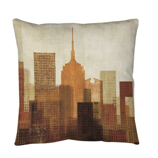 Summer in the City 1 Throw or Floor Pillow