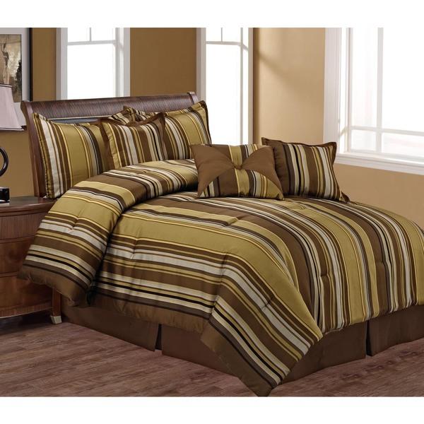 Parker Luxury 7-piece Queen Comforter Set