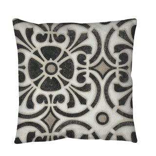 Thumbprintz Moroccan Symbol 2 Throw or Floor Pillow
