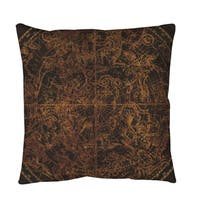 Northern Celestial Sphere Vintage Throw or Floor Pillow