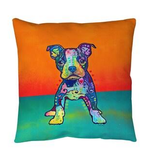 Thumbprintz On My Own Throw or Floor Pillow