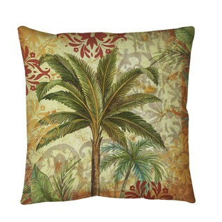 Thumbprintz Palms Pattern III Throw or Floor Pillow