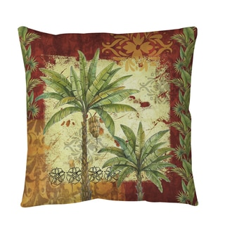 Thumbprintz Palms Pattern V Throw or Floor Pillow