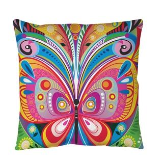Thumbprintz Pattern Butterfly Throw or Floor Pillow