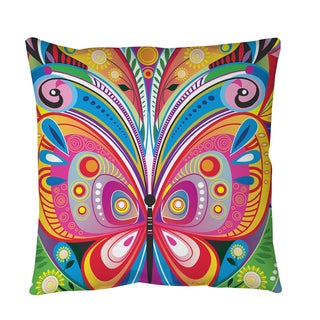 Pattern Butterfly Throw or Floor Pillow
