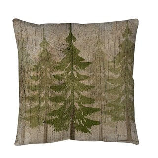 Pines Throw or Floor Pillow