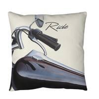 Ride Throw or Floor Pillow
