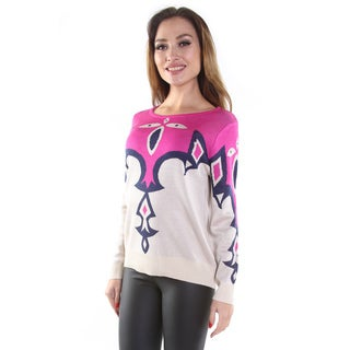 Hadari Women's Colorful Pullover