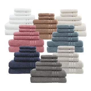 Authentic Hotel and Spa Omni Turkish Cotton 6-piece Terry Bath Towel Set