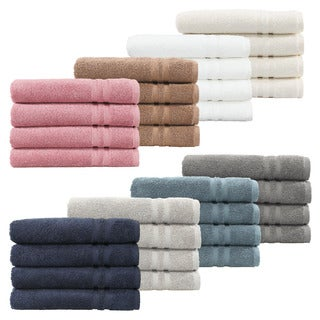 Authentic Hotel and Spa Omni Turkish Cotton Terry Hand Towels (Set of 4)