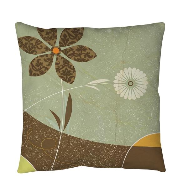 Graphic Garden Sadie Throw or Floor Pillow