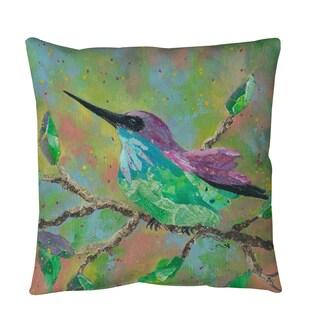 Thumbprintz Hummingbird Throw or Floor Pillow