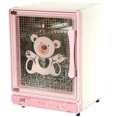 SPT Pink Baby Bottle Sterilizer and Dryer