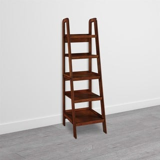 Avenue Greene Glenhaven Mahogany Ladder Bookcase