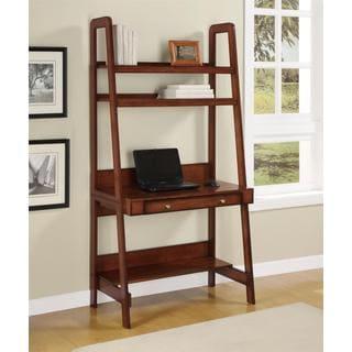 Altra Platform Mahogany Ladder Desk