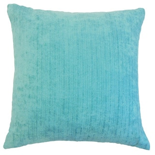 Tahsin Solid Down and feather Filled 18-inch Throw Pillow