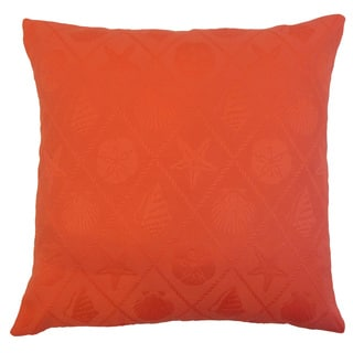 Sadiya Solid Down and feather Filled 18-inch Throw Pillow