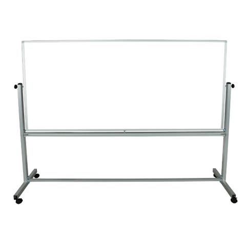 Luxor Reversible Magnetic Mobile Whiteboard (96 inches x 40 inches)