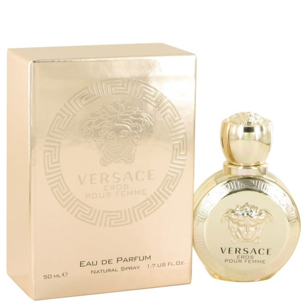 Shop Versace Eros Pour Femme Women s 1.7-ounce Eau de Parfum Spray - Free  Shipping On Orders Over  45 - Overstock.com - 11092577 9d278c96a08