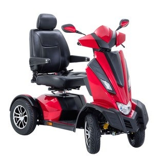 Drive Medical King Cobra Executive 4 Wheel, Power Scooter, with 22-inch Captain Seat