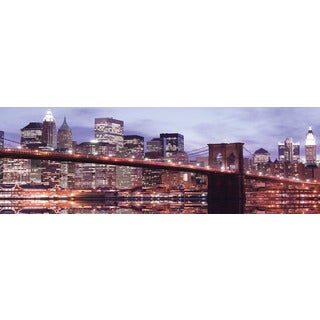 Selections by Chaumont Glass Art Brooklyn Bridge