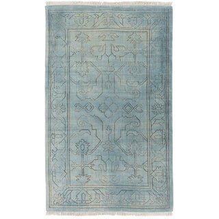 Hand Loomed Alvarado Wool Rug (6' x 9')