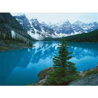 Selections by Chaumont Glass Art Moraine Lake Banff Alberta