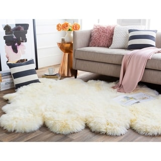 Link to Antarctica Plush Hair-on-hide Area Rug Similar Items in Shag Rugs
