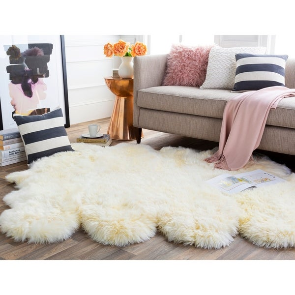 Antarctica Plush Hair-on-hide Area Rug. Opens flyout.