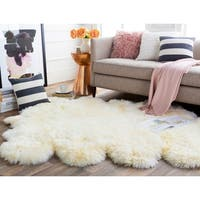 Hand Crafted Antarctica Hair On Hide Area Rug