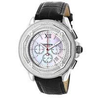 Centorvm Falcon Men's 3/5ct TDW Diamond Bezel Watch