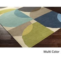 Hand Tufted Wolver Wool Area Rug - 8' x 11'