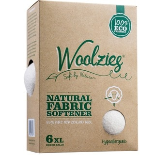 Set of 6 Woolzies Wool Dryer Balls/ Natural Fabric Softener
