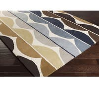 Hand Tufted Deal Wool Area Rug