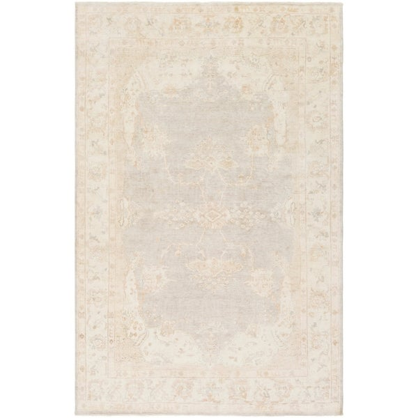 Hand Knotted Annes Wool Area Rug - 2' x 3'