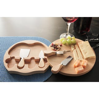 Swivel Cheese Boards and Tools Set
