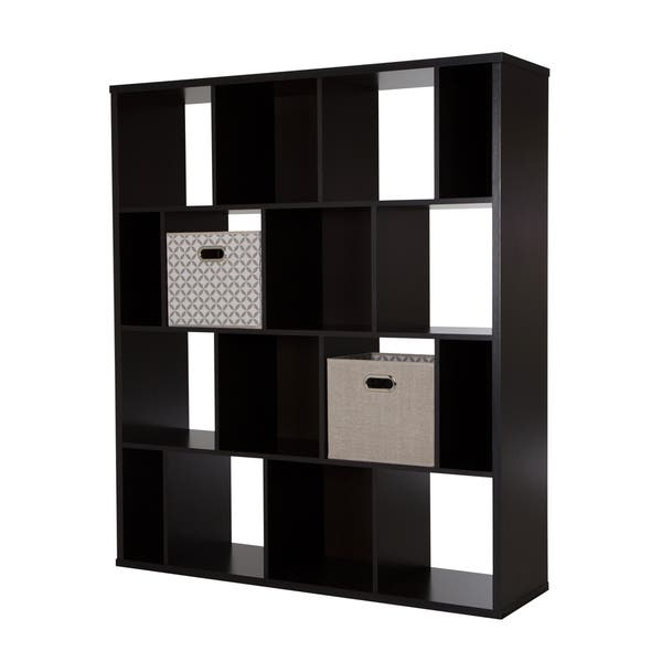 Cube Shelving Unit With 2 Fabric