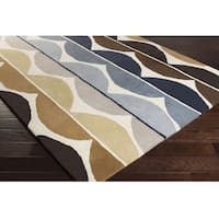 """Hand Tufted Deal Wool Area Rug - 3'3"""" x 5'3"""""""