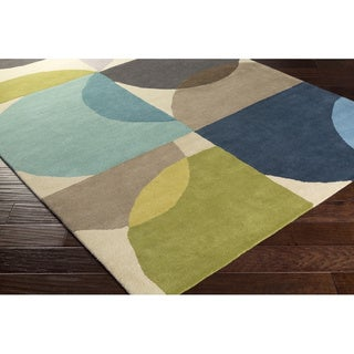 Hand Tufted Wolver Wool Area Rug