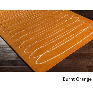 Home Hand Tufted Yate Wool Rug (4' x 6')