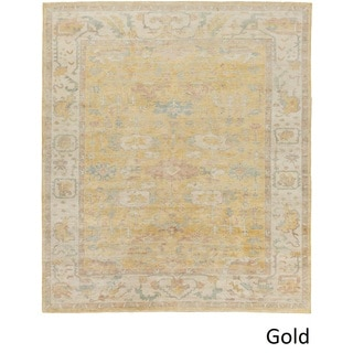 Hand Knotted Anglais Wool Rug (4' x 6')