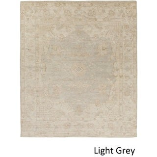Hand Knotted Annes Wool Rug (4' x 6')