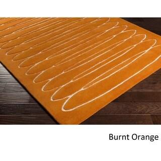 Home Hand Tufted Yate Wool Rug (5' x 7'6)