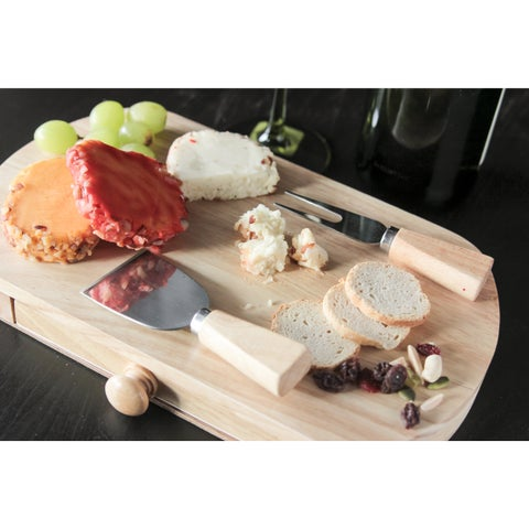 Cheese Board with Slide Out Drawers
