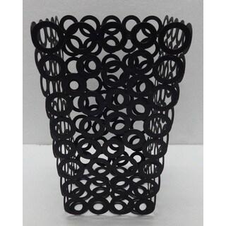 "Vanilla Rings Waste Bin - 6.25""x9.75"""