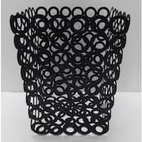 "Vanilla Rings  Waste Bin - 7.75""x9.75"""