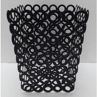 "Vanilla Rings Waste Bin - 7.75""x9.75"" (2 options available)"