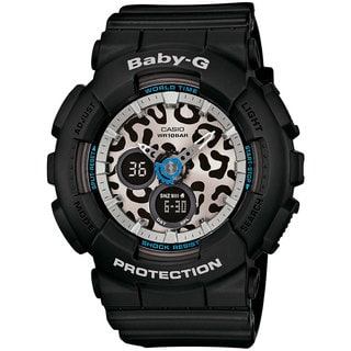 Casio Baby-G BA120LP-1ACR Women's Analog-Digital Black Resin Watch