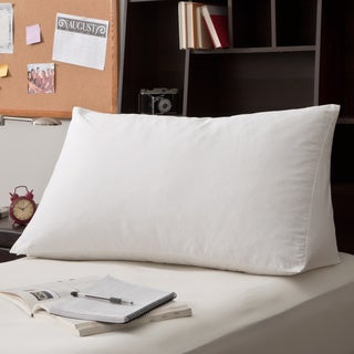 White Goose Down and Feather Reading Wedge Pillow (As Is Item)