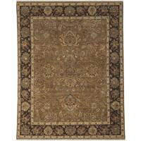 Bethany Oak Traditional Hand-knotted Rug - 2' x 3'